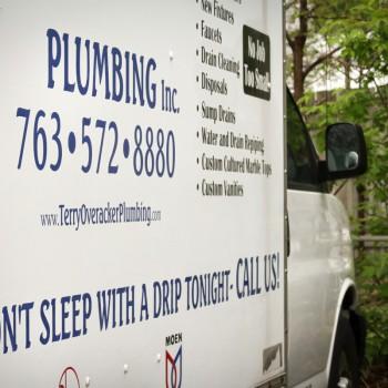 Terry Overacker Plumbing Truck