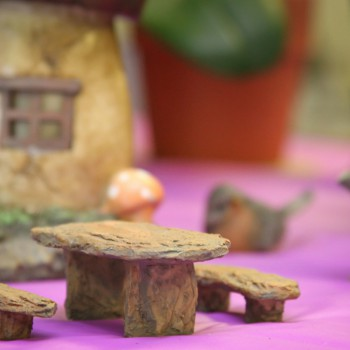 Fairy furniture in our Showroom