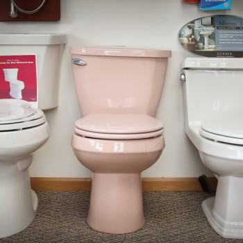 Unique colored toilets