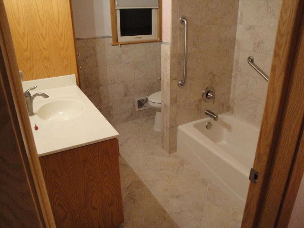 Terry overacker plumbing bathroom remodeling terry for Bathroom remodel plumbing