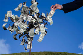 plucking money tree