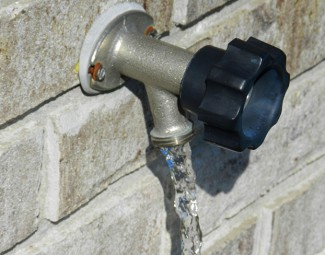 testing your outside faucet