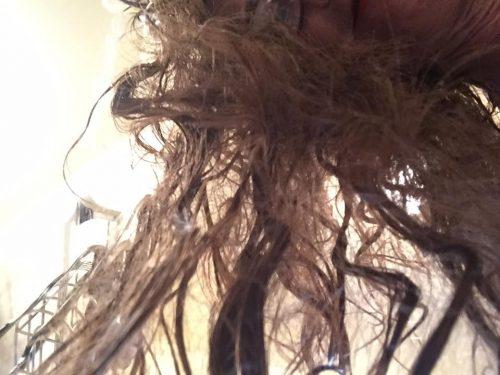 Mangled Hair